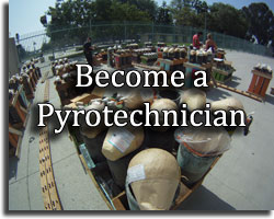 Become a pyrotechnician