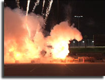 California Speedway Fireworks Video