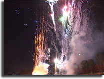 mira costa high homecoming fireworks